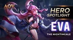 Eva The Nightingale Hero Spotlight - Garena AOV (Arena of Valor)