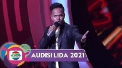 "Merdu!!! Idrus (Banten) Sepenuh Hati Sampaikan Perjalanan Hidup Yang Penuh ""Liku-Liku""!!!   LIDA AUDISI 2021"