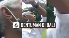 Begini Kerasnya Suara Dentuman Misterius di Bali