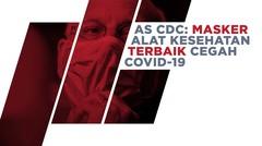 AS CDC: Masker Alat Kesehatan Terbaik, Alasannya?