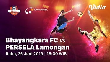 Live Streaming - Bhayangkara FC vs Persela Lamongan - Shopee Liga 1