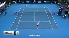 Match Highlight | Asleigh Barty 2 vs 0 Marketa Vondrousova | WTA Adelaide International 2020
