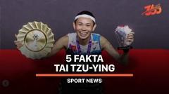 5 Fakta Tai Tzu-ying