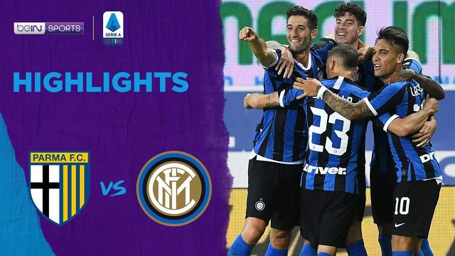 Streaming Match Highlight Parma Calcio 1 Vs 2 Inter Milan Serie A 2020 Vidio Com