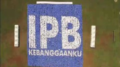 """IPB Pecahkan Rekor Dunia """"The Most Mosaic Picture Formation"""""""