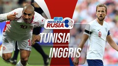 All Goal Tunisia VS Inggris 1 - 2 Di Piala Dunia 2018