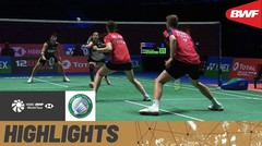 Match Highlight | Chan Peng Soon/Goh Liu Ying (Malaysia) 2 vs 1 Thom Gicquel/Delphine Delrue (France) | Yonex All England Open Badminton Championship 2021