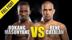 Bokang Masunyane vs. Rene Catalan | ONE Championship Full Fight