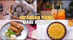 Hidangan Manis dari Kelapa