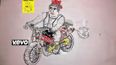 Cara Menggambar Motor Balap Sport Drag Byson Modifikasi How To Draw Motorcycle Moto Gp