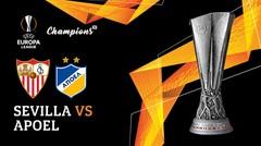 Full Match - Sevilla Vs Apoel | UEFA Europa League 2019/20