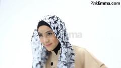 Tutorial Hijab Pashmina Turban