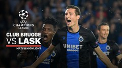 Full Highlight - Club Brugge VS Lask Linz | UEFA Champions League 2019/2020