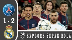 PSG vs Real Madrid (1-2) | All Goals & Highlights | UCL 6/03/2018