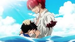 Janji Dan Perpisahan Luffy dengan Si Rambut Merah