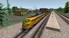 Train Simulator 2017 EMD F7 UPPR Locomotive Feeling The Heat Scenario