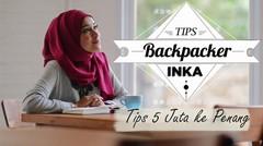 TIPS BACKPACKER 5 JUTA KE PENANG