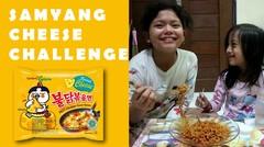 Pedasnya Samyang Cheese Challenge