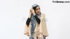 Tutorial Hijab Drapery Simple Dengan Pashmina