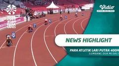 Para Atletik Lari Putra 400M T20 Sumbang Dua Medali
