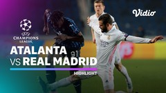 Highlight - Atalanta vs Real Madrid I UEFA Champions League 2020/2021