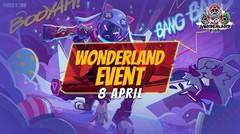 Wonderland Event Segera Hadir! - Gun Skin Permanent, Bundle Permanent, dan Magic Fragment GRATIS!