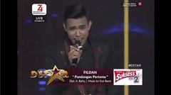 PANDANGAN PERTAMA FILDAN D'STAR TOP-4 RESULT SHOW 2019