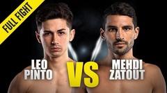 Leo Pinto vs. Mehdi Zatout | ONE Championship Full Fight