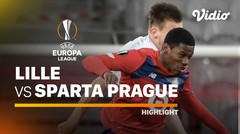 Highlight - Lille vs Sparta Prague I UEFA Europa League 2020/2021