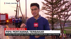Pipa Pertamina di Cimahi Terbakar, Satu Orang Tewas - AAS News TV
