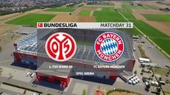 Highlights Bundesliga Pekan 31, Bayern Munchen Tumbang dari Mainz 05