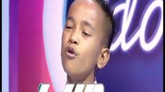 HEBAT BANGET!  Walau belajar nyanyi secara otodidak, suara Junior ini tidak ada duanya!