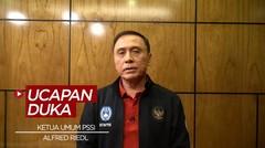 Ketua Umum PSSI Sampaikan Duka Cita Atas Meninggalnya Alfred Riedl