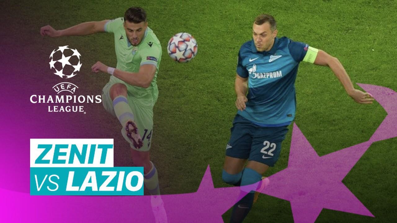 Streaming Mini Match Zenit Vs Lazio I Uefa Champions League 2020 2021 Vidio Com