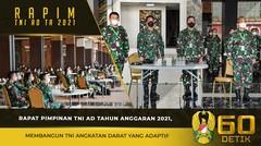 Rapim TNI AD TA. 2021, Membangun TNI Angkatan Darat yang Adaptif