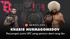 Kisah hidup Khabib Nurmagomedov, juara UFC yang pensiun demi sang ibu