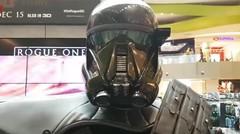 Star Wars ~ Cerita Rogue Satu Ukuran Penuh Death Trooper dan AT AT Walker Langsung Action