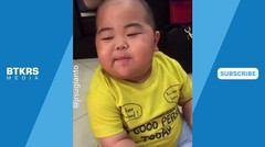 Lucunya Baby Tatan Ikutan Demam TELOLET | Bikin Gemesss