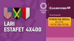 Full Match | Atletik - Perebutan Medali Lari Estafet 4X400m Putra | Olimpiade Tokyo 2020
