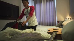 Kesan Falah Terhadap Vidio.com Music Battle (vlog day 7)