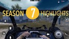 Season 7 Highlights | PUBG MOBILE | TEHBOLOT GAMEPLAY