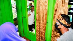 Presiden Jokowi Tinjau Vaksinasi Covid-19, Tarakan, 19 Oktober 2021