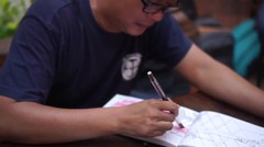 #ODWdemikonten : Konon sketching itu gak seribet mencari DIA ~ @motulz