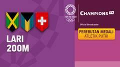 Full Match | Atletik - Perebutan Medali Emas Lari 200m Putri | Olimpiade Tokyo 2020