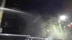 Pemadam Kebakaran PT STTC Ikut memadamkan Api di Jalan Surabara Siantar