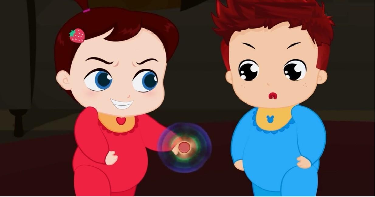 Kartun Anak Lucu Sun & Moon 18 Spiner Jahat