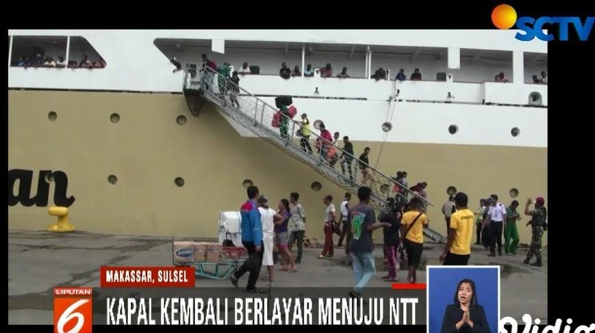 Penumpan Kapal Pelni Di Makassar Alami Kenaikan Liputan 6 Siang