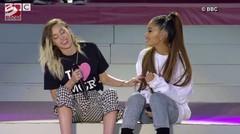 Miley Cyrus mau jadi sahabat Ariana Grande