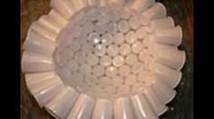 Membuat Lampu Dari Gelas dan Sendok Plastik