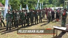 TNI Melakukan Aksi Bersih Eceng Gondok